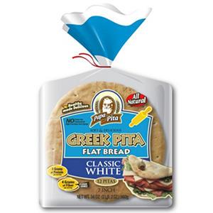 "Papa Pita 7"" Greek Pita Flat Bread (12 ct.)"