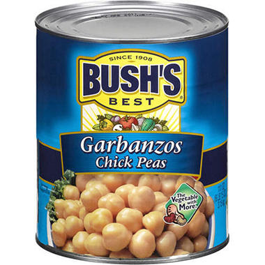 Bush's Best Garbanzos (Chick Peas) - 111 oz.