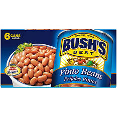 Bush's Dark Red Kidney Beans - 15 oz. cans - 6 pk.