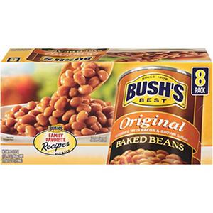 Bush's Best Baked Beans - 8/16.5oz cans