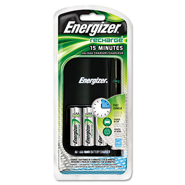 Energizer 15 Minute Battery Charger - NiMH