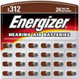 Energizer® HearingAid Batteries 312 ZincAir-24 ct.