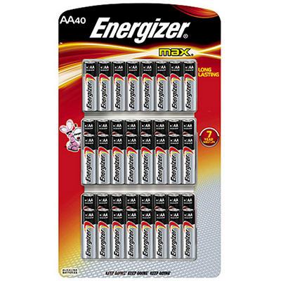 Energizer MAX AA Batteries - 40 pk.