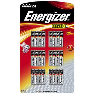 Energizer MAX AAA - 24 pk.