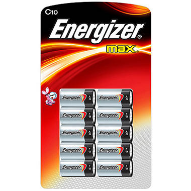 Energizer® MAX® C - 10 pk.