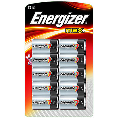 Energizer® MAX® D - 10 pk.