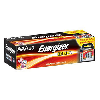 Energizer MAX AAA Batteries - 36 ct. in Resale Packs