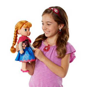 Disney Princess Anna Toddler Doll and Accessories