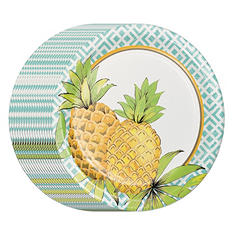 "Daily Chef Flowers on the Pond Paper Plates, 10.25"" (80 ct.)"