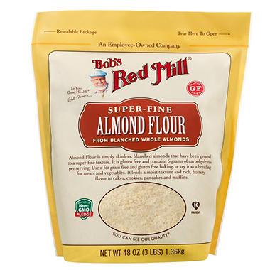 Bob S Red Mill Almond Flour 3 Lb Sam S Club
