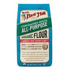 Bob's Red Mill Organic Unbleached All Purpose White Flour (5lbs.)