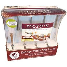 Mozaik Dinner Service for 8