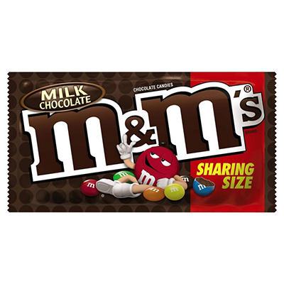 M&M's® Milk Chocolate King Size - 24 ct.