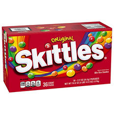 Skittles Original Fruit Bite Size Candies (2.17 oz.bags, 36 ct.)