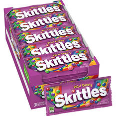 Skittles Wild Berry Candy (2.17 oz. bags, 36 ct.)