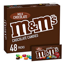M & M's® Milk Chocolate (1.69 oz., 48 pk.)