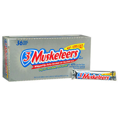 3 Musketeers� - 36/2.13 oz. bars