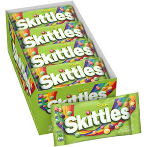 Skittles Sour Candy (1.8 oz., 24 pk.)
