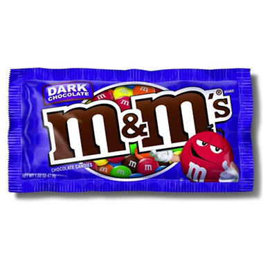 Dark Chocolate M&M's - 1.69 oz. - 24 ct.