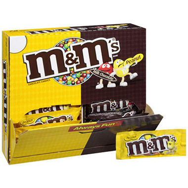 M&M's® Variety Counter Display - 72 ct.