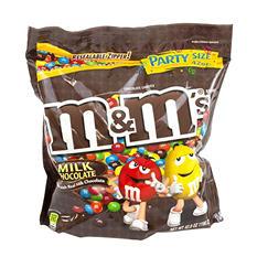 M&M's® Plain Chocolate Candies - 42 oz. bag