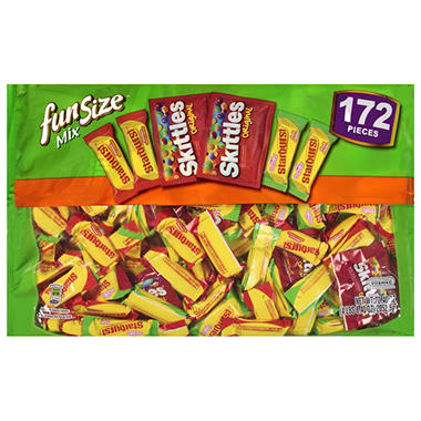 Skittles®/Starburst® Fun Size Mix - 172 ct.