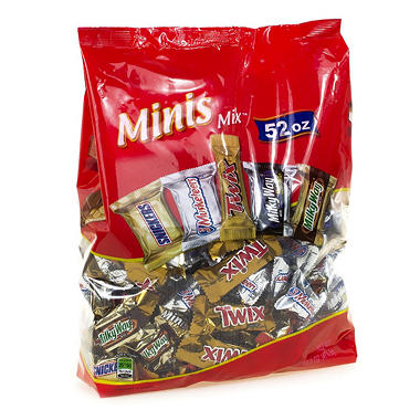 Mars Chocolate Minis Mix (52 oz.)