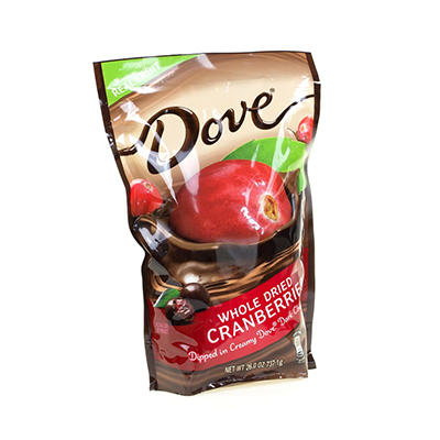 Dove Whole Cranberries Dipped in Dark Chocolate (26 oz.)