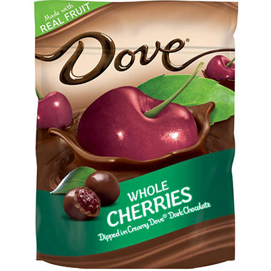Dove Whole Cherries Dipped in Dark Chocolate (26 oz.)