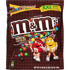 M&M's Milk Chocolate Candies (51.50 oz.)