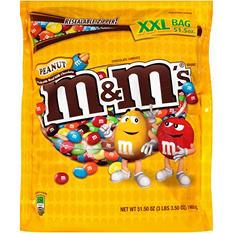 M&M's Peanut Chocolate Candies (51.50 oz.)