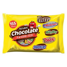 Mars Chocolate Favorites (135 ct., 69 oz.)
