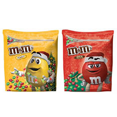 Holiday M&M's, Plain or Peanut Milk Chocolate Candies (51.5 oz.)