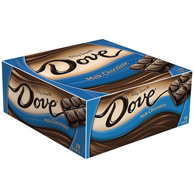 Dove Milk Chocolate Bar (18 ct.)