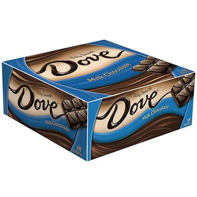 Dove Milk Chocolate Bar (18 ct.)