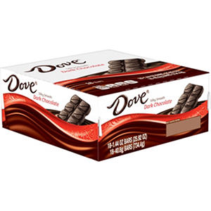 Dove Dark Chocolate Bar (18 ct.)