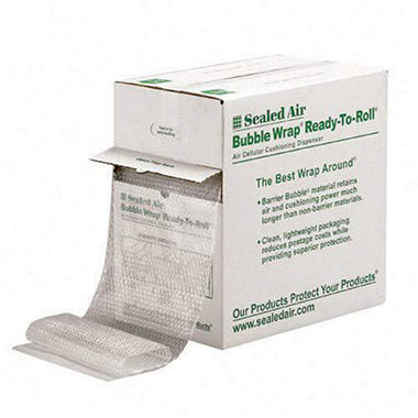 Sealed Air - Bubble Wrap Cushioning Material, 3/16