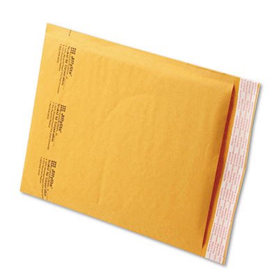 Sealed Air - Jiffylite Self-Seal Mailer, Side Seam, #2, 8 1/2 x 12, Golden Brown, 100 per Carton
