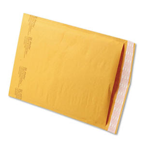 Sealed Air - Jiffylite Self-Seal Mailer, #4, 9 1/2 x 14 1/2, Golden Brown, 100 per Carton