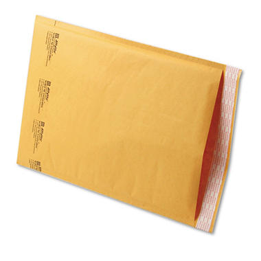 Sealed Air - Jiffylite Self-Seal Mailer, Side Seam, #5, 10 1/2 x 16, Golden Brown, 100 per Pack