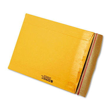 Sealed Air - Jiffy Rigi Bag Mailer, Side Seam, #4, 9 1/2 x 13, Golden Brown, 200 per Pack