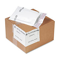 Sealed Air - Jiffy TuffGard Self-Seal Cushioned Mailer, Side Seam, #000, 4x8, WE, 25 Pack
