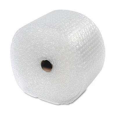 "Sealed Air - Recycled Bubble Wrap, Light Weight 5/16"" Air Cushioning, 12"" x 100ft"
