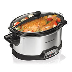 Hamilton Beach Stay-or-Go Programmable Slow Cooker