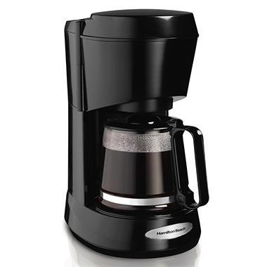 Hamilton 5 Cup Coffee Maker - Black