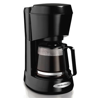 Hamilton 5 Cup Coffee Maker - Black