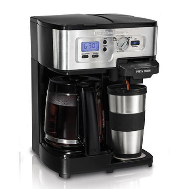 Hamilton Beach 2-Way FlexBrew Coffeemaker