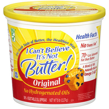 I Can't Believe It's Not Butter!� - 5 lb.