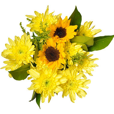Sunshine Mixed Bouquet - 7 pk.