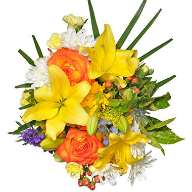 Sunny Daze Mixed Bouquet - 7 pk.